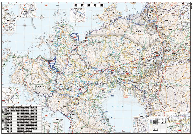 佐賀県地図